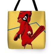 St. Louis Cardinals Vintage 1956 Program Tote Bag