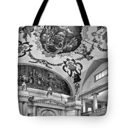 St. Louis Cathedral 2 Monochrome Tote Bag
