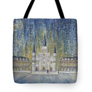 St. Louis  Cathedral And Old Government Buildings Tote Bag
