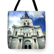 St. Louis Cathedral - Nola- Art Tote Bag