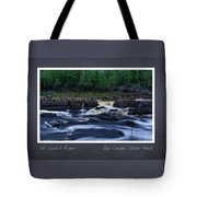 St Louis River Scrapbook Page 1 Tote Bag