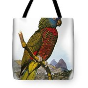 St Lucia Amazon Parrot Tote Bag