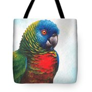 St. Lucia Parrot Tote Bag