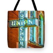 St Luke Church Of God In Christ Dsc2907 Tote Bag