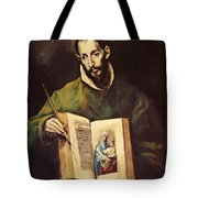 St Luke Tote Bag