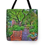 St. Luke Garden Sanctuary Tote Bag
