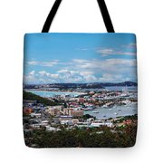 St. Maarten Landscape Tote Bag