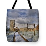 St Margarets Church Ridge Hertfordshire Tote Bag