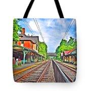 St. Martins Train Station Tote Bag