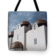 St Mary And St Abraam Coptic Orthodox Church Tote Bag