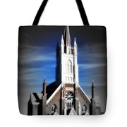 St. Mary In The Mountains Tote Bag