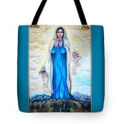 St Mary Of The Valley Tote Bag