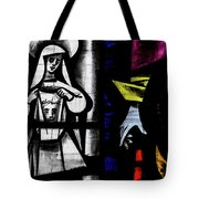 St Mary Redcliffe Stained Glass Close Up C Tote Bag
