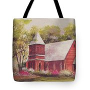 St. Mary's Chapel Tote Bag