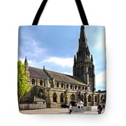 St Mary's Church At Lichfield Tote Bag
