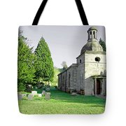 St Mary's Church At Mapleton Tote Bag