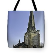 St Mary's Church At Uttoxeter Tote Bag