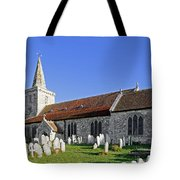 St Mary's Church - Brading Tote Bag