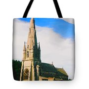 St Mary's Church, Studley Royal  Tote Bag