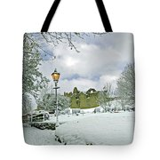 St Mary's Churchyard - Tutbury Tote Bag