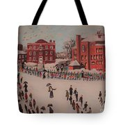 St Mary's First Friday Mass Tote Bag