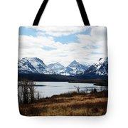 St. Mary's Lake Tote Bag