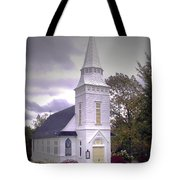 St. Mathews Chapel In Sugar Hill Tote Bag