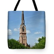 St. Matthew's German Evangelical Lutheran Church In Charleston Tote Bag