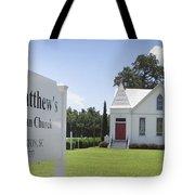 St. Matthews Lutheran Church Tote Bag
