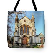 St Michael And St George R.c Church - Lyme Regis Tote Bag
