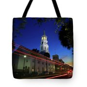 St. Michael's Episcopal Church In Charleston, South Carolina Tote Bag