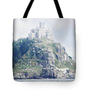 St Michael's Mount Cornwall England Tote Bag