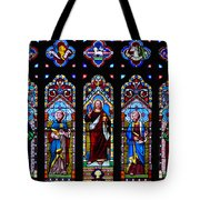 St. Michael's Parish Stained Glass Tote Bag