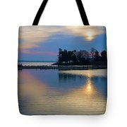 St. Michael's Sunrise Tote Bag
