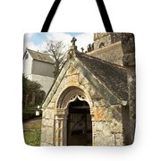 St Mylor And Bell Tower Tote Bag