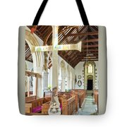 St Mylor Cross Reflections Tote Bag