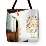 St Mylor Organ Pipes Tote Bag