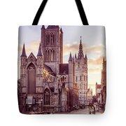 St. Nicholas Church, Gent Tote Bag