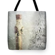St Nicholas In The Snow Tote Bag