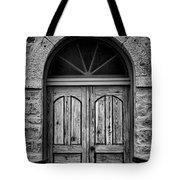 St Olafs Church Door Tote Bag