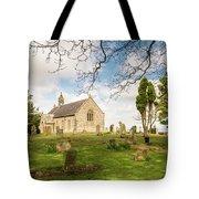 St Oswald's Church Graveyard Tote Bag
