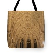 St. Patrick's Cathedral - Detail Of Main Altar's Ceiling Tote Bag