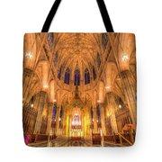 St Patrick's Cathedral Manhattan New York Tote Bag