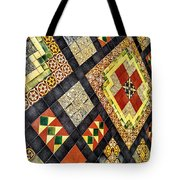 St. Patrick's Cathedral Mosaic Floors Tote Bag