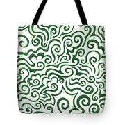 St Patrick's Day Abstract Tote Bag