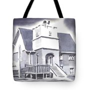 St Paul Lutheran With Ink Tote Bag