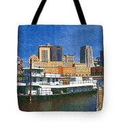 St Paul On The Mississippi Tote Bag