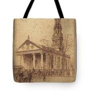 St. Paul's, Broadway, N.y. Tote Bag