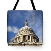 St Pauls Cathedral London England Uk Tote Bag