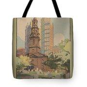 St. Paul's Chapel Tote Bag